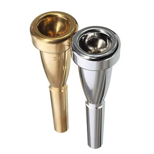 Trompetenmundstück 3C Größe für Yamaha für Bach Metal Trompetenmundstück für High Register und C Trompete Accessaries - Silber