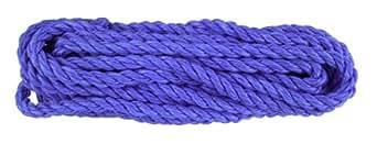 Connex DY2701811 Zwei Mehrzweckseil mit Öse, 10.0 mm x 3 m, weiß