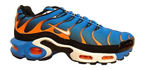 nike air max Baskets 604133 plus Chaussures de running pour homme photo blue white total orange 400