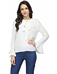 Karmic Vision Women's Crepe Solid Top