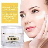Best Wrinkle Cream For Faces - Retinol Moisturizer Cream,Vitamin E & 2.5% Active Retinol,Retinol Review