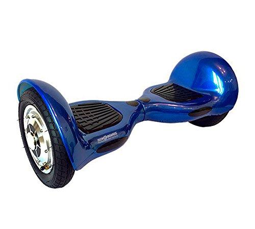 BC Babycoches patinete electrico Tecnoboards T10, bateria litio, 10 pulgadas, hoverboard monopatin autoequilibrio COLOR AZUL