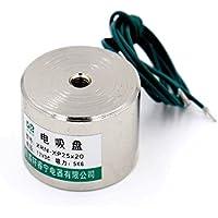 11LB DC12V Holding Electromagnet Lift Solenoid by Generic