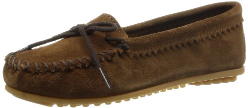 Minnetonka Suede Skimmer Moc 343, Damen Mokassins, braun, (dusty brown), EU 38, (US 7) Suede Skimmer