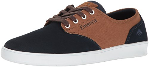 Emerica Laced By Leo Romero-M, Baskets mode homme Multicolore (Navy Brown White 480)