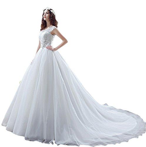 Missdressy - Robe de mariage - Trapèze - Femme - YXMMD2908SQS