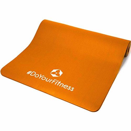 Fitnessmatte Ashanti dicke und weiche Sportmatte, ideal für Pilates, Gymnastik und Yoga.  Abbildung 2