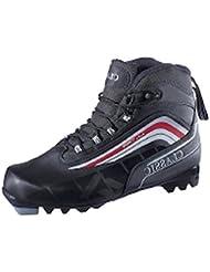 De esquí de fondo para Ultra para hombre para NNN-sistema de fidelización (bota de tamaño: 44 - 902 negro/blanco/rojo)