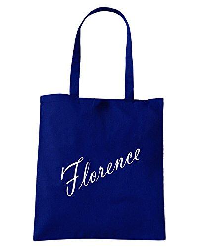 T-Shirtshock - Borsa Shopping OLDENG00329 florence products Blu Navy