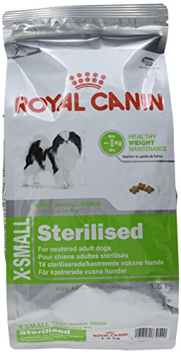Royal Canin X-Small Sterilised - Comida para perros adultos esterilizados, 1,5 Kg