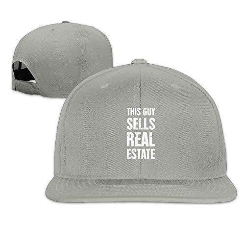 This Guy Sells Real Estate Realtor Cool Washed Hat Gym Baseball Caps adc7173e9db4