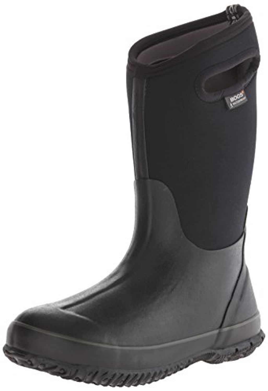 Bogs 52065 Classic High Black, 100% waterproof wellington boot for extreme weathers! EU 27 / Junior UK 11