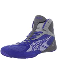 Zapatillas de lucha Asics Cael V5.0 para hombre Azul / Plateado / Titanio 9 M US