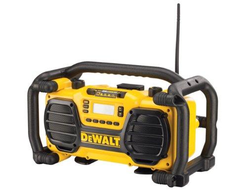 DeWalt DC013   DC013: Baustellenradio (Akku/ Netz) mit Ladefunktion