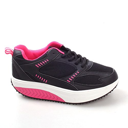scarpe-donna-dimagranti-rassoda-glutei-benessere-sportive-fitness-basculanti-rassodanti-39-nero-fuxi
