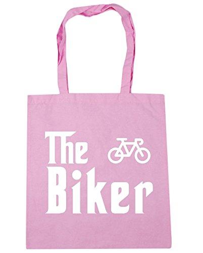 hippowarehouse-bolsa-de-playa-de-algodon-mujer-rosa-classic-pink-talla-unica