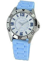 9e5040829e4e Time Force Reloj Analógico para Mujer de Cuarzo con Correa en Caucho  TF4112B03