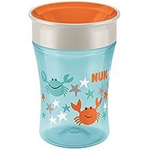 Nuk Easy Learning 3 - Taza Magic Cup, para ninos de 8 meses y mas, colores/diseños surtidos