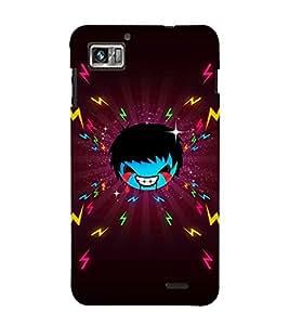 EPICCASE Crying demon boy Mobile Back Case Cover For Lenovo K860 (Designer Case)