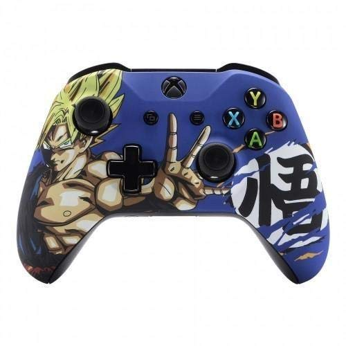 Dragon Ball Soft Touch Front Shell Gehäuseoberschale For Xbox One S Controller
