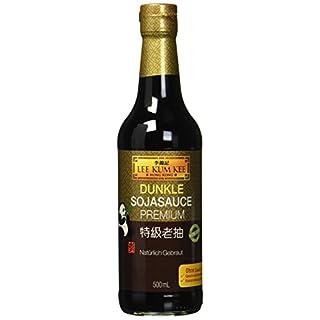 Lee Kum Kee Soja-Sauce dunkel (aus China, natürlich gebraut, ohne Geschmacksverstärker, würzig) 3er Pack (3 x 500ml)