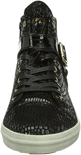 Replay Coin, Baskets hautes femme Noir - Schwarz (BLACK 3)