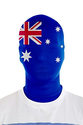 Morphsuits Australia bandiera Morph Maschera (taglia unica)