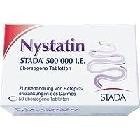 NYSTATIN STADA 500.000 I.E. überzogene Tab. 50 St preisvergleich bei billige-tabletten.eu