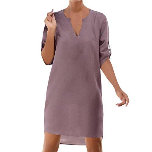 Amlaiworld Vestido Mujer Verano Vestido de Playa Vestido Corto de Cóctel de...