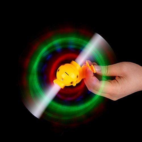 Vktech® Tricks blinkender LED Spinning Windmühle zeigen mit Sound Kinder Spielzeug