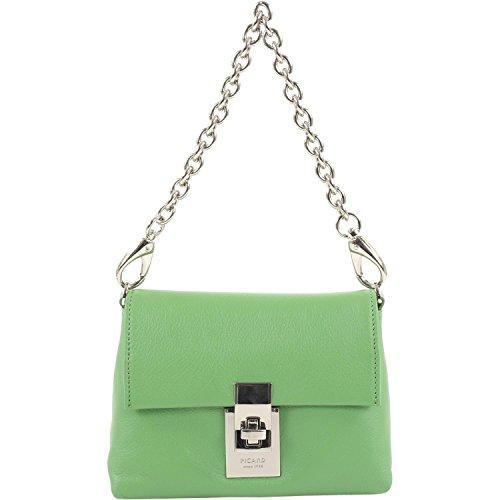 Picard Cameron Damentasche Rindleder 15 cm, gras Grün