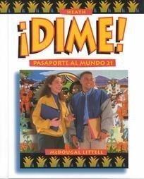 McDougal Littell Dime: Student Edition Level 3 1997