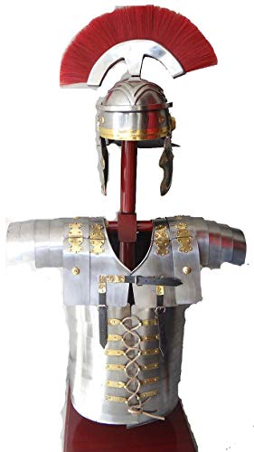Decor&Style Römische Lorica Sementata Sebenta Armor + römische - Roman Centurion Armor Kostüm