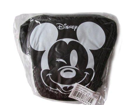 e , Mickey-Motiv, Schwarz (Disney Tragetasche)