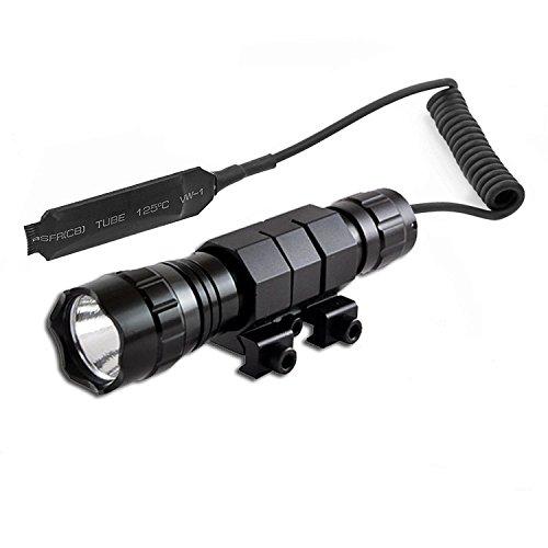 Windfire Tac resistente al agua T6 LED linterna 1000Lm Rifle Caza linterna...