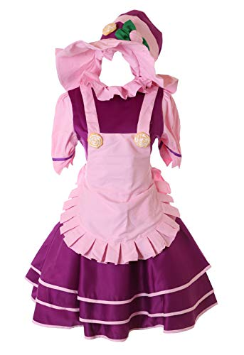 Kostüm Charaktere Aus Story Toy - Kawaii-Story MN-86 Lulu LOL Leage Legends Kostüm Kleid 3-teilig Set Faschings Cosplay Anime Manga Verkleidung (M)