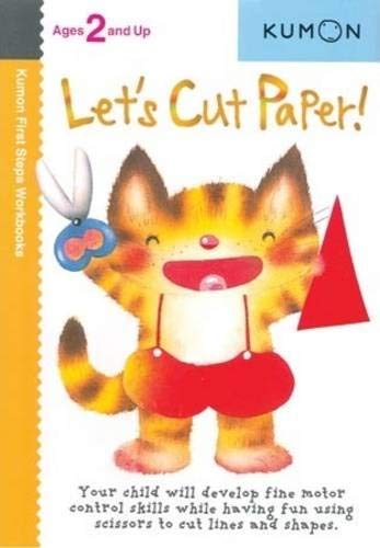 Let's Cut Paper Kumon First Steps Workbooks