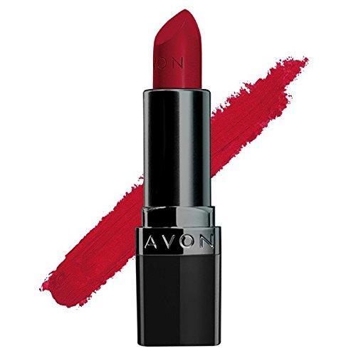 AVON-True colour perfectly matte lipstick 4.0g (RED SUPREME)