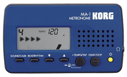 Korg MA-1 Digital Metronome (Black & Blue)