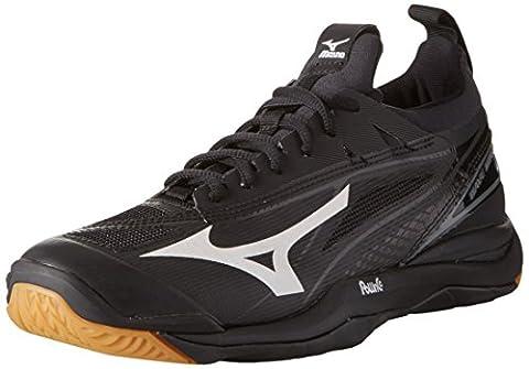 Mizuno Waver Mirage, chaussure de sport homme - noir - Nero (Black/White), 43 EU