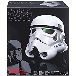 Star Wars - Edition Collector Black series - Casque impérial de Stormtrooper - Exclusivité Amazon