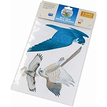 Gardman wild bird alert window sticker pack