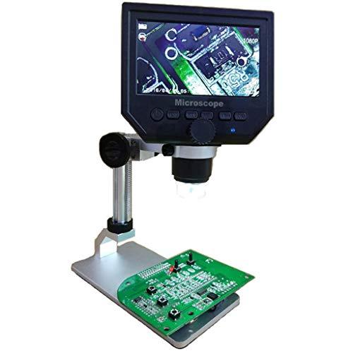 Mumuj G600 HD - Microscopio digital pantalla LCD 4,3