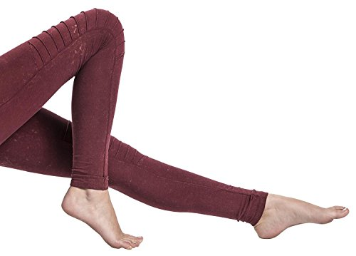 Urban Classics Legging en jersey pour femme Bourgogne