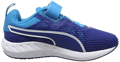Puma Unisex-Kinder Flare 2 V Ps Low-Top Blau (true blue-true blue 01)