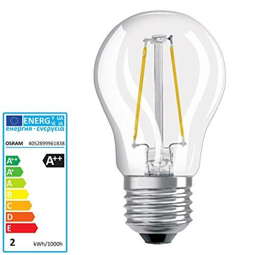 OSRAM PARATHOM LED RETROFIT CLASSIC P E27 220 240 V RETROFIT CL P25 clear filament 827 2W 250lm 2700 - Cl-glühlampe
