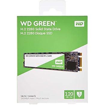 Western Digital WD Verde Internal SSD M.2 SATA, Verde, 120 GB ...