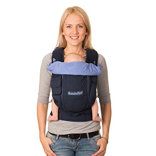 Hoppediz Bon-sli-mar Bondolino Komfort-Babytrage Slim-fit, blau