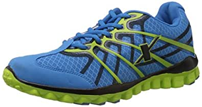 Sparx Men's Blue and Green Mesh Running Shoes (SM-170) - 6 UK