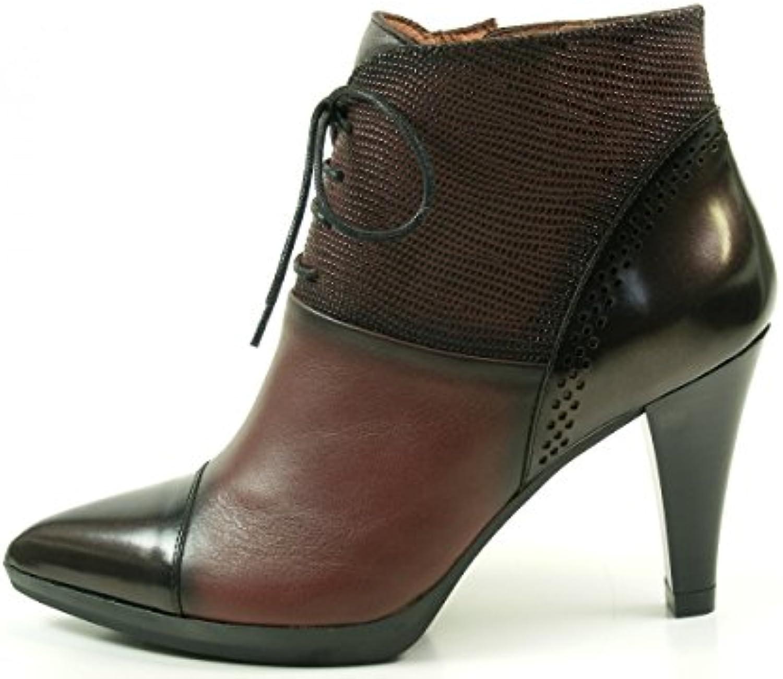 Hispanitas Eiffel HI63525 Botines de Cuero para Mujer Ankle Boots